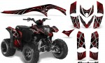 Polaris Phoenix CreatorX Graphics Kit SpiderX Red 150x90 - Polaris Phoenix 200 Graphics