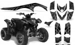 Polaris Phoenix CreatorX Graphics Kit SpiderX Silver 150x90 - Polaris Phoenix 200 Graphics