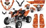 Polaris Predator 500 AMR Graphic Kit BC O 150x90 - Polaris Predator 500 Graphics