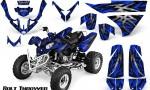 Polaris Predator 500 CreatorX Graphics Kit Bolt Thrower Blue 150x90 - Polaris Predator 500 Graphics
