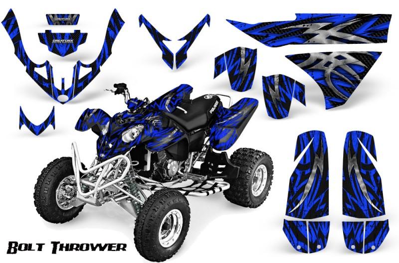 Polaris-Predator-500-CreatorX-Graphics-Kit-Bolt-Thrower-Blue