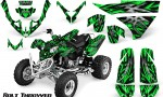 Polaris Predator 500 CreatorX Graphics Kit Bolt Thrower Green 150x90 - Polaris Predator 500 Graphics