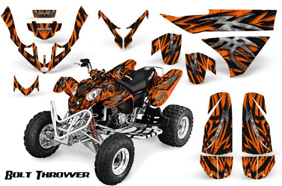 Polaris Predator 500 CreatorX Graphics Kit Bolt Thrower Orange 570x376 - Polaris Predator 500 Graphics