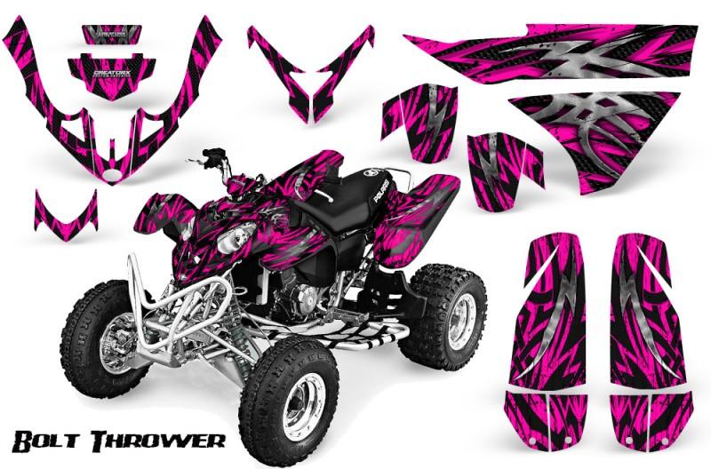 Polaris-Predator-500-CreatorX-Graphics-Kit-Bolt-Thrower-Pink