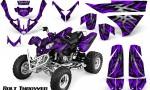 Polaris Predator 500 CreatorX Graphics Kit Bolt Thrower Purple 150x90 - Polaris Predator 500 Graphics