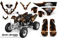 Polaris-Predator-500-CreatorX-Graphics-Kit-Skull-Patrol-Solid-Orange-Black