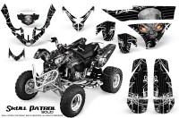 Polaris-Predator-500-CreatorX-Graphics-Kit-Skull-Patrol-Solid-White-Black