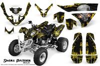 Polaris-Predator-500-CreatorX-Graphics-Kit-Skull-Patrol-Solid-Yellow-Black