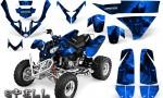 Polaris Predator 500 CreatorX Graphics Kit Spell Blue bk 150x90 - Polaris Predator 500 Graphics