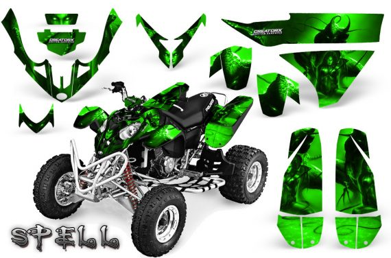 Polaris Predator 500 CreatorX Graphics Kit Spell Green 570x376 - Polaris Predator 500 Graphics