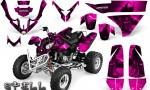 Polaris Predator 500 CreatorX Graphics Kit Spell Pink 150x90 - Polaris Predator 500 Graphics