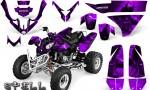 Polaris Predator 500 CreatorX Graphics Kit Spell Purple 150x90 - Polaris Predator 500 Graphics