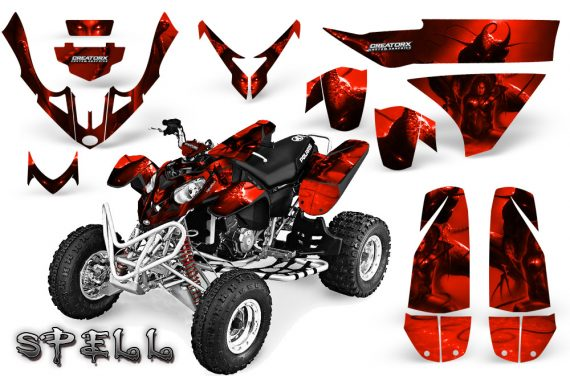 Polaris Predator 500 CreatorX Graphics Kit Spell Red BB 570x376 - Polaris Predator 500 Graphics
