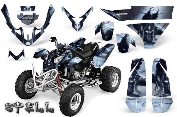 Polaris Predator 500 CreatorX Graphics Kit Spell Silver 570x376 - Polaris Predator 500 Graphics