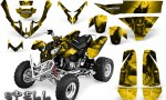 Polaris Predator 500 CreatorX Graphics Kit Spell Yellow 2 150x90 - Polaris Predator 500 Graphics