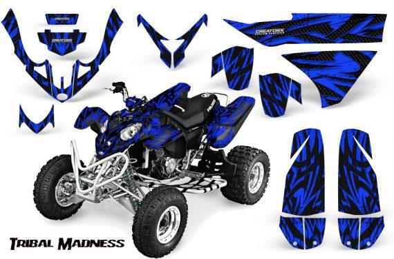 Polaris Predator 500 CreatorX Graphics Kit Tribal Madness Blue 570x376 - Polaris Predator 500 Graphics