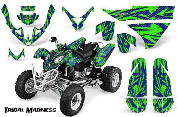 Polaris Predator 500 CreatorX Graphics Kit Tribal Madness Blue Green 570x376 - Polaris Predator 500 Graphics