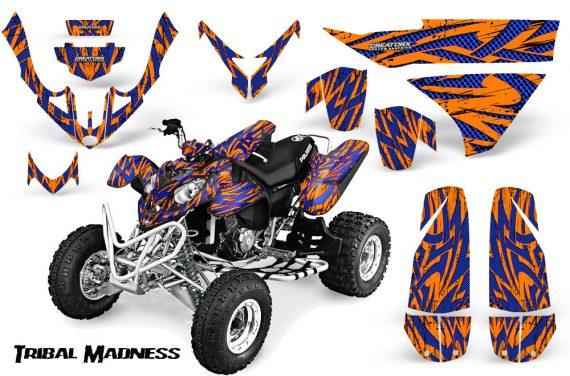 Polaris Predator 500 CreatorX Graphics Kit Tribal Madness Blue Orange 570x376 - Polaris Predator 500 Graphics