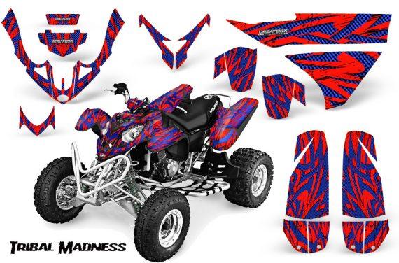 Polaris Predator 500 CreatorX Graphics Kit Tribal Madness Blue Red 570x376 - Polaris Predator 500 Graphics