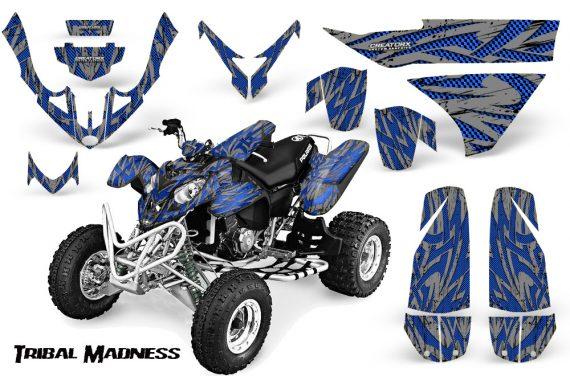Polaris Predator 500 CreatorX Graphics Kit Tribal Madness Blue Silver 570x376 - Polaris Predator 500 Graphics