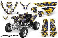 Polaris-Predator-500-CreatorX-Graphics-Kit-Tribal-Madness-Blue-Yellow
