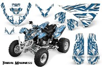 Polaris-Predator-500-CreatorX-Graphics-Kit-Tribal-Madness-BlueIce-White