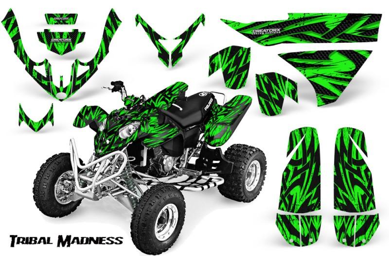 Polaris-Predator-500-CreatorX-Graphics-Kit-Tribal-Madness-Green