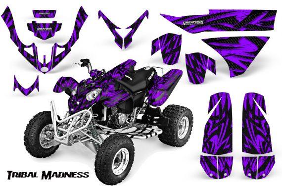 Polaris Predator 500 CreatorX Graphics Kit Tribal Madness Purple 570x376 - Polaris Predator 500 Graphics