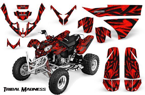Polaris Predator 500 CreatorX Graphics Kit Tribal Madness Red BB 570x376 - Polaris Predator 500 Graphics