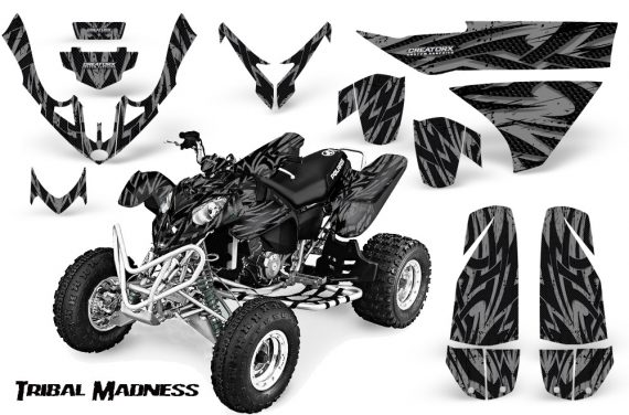 Polaris Predator 500 CreatorX Graphics Kit Tribal Madness Silver 570x376 - Polaris Predator 500 Graphics
