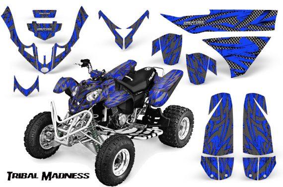 Polaris Predator 500 CreatorX Graphics Kit Tribal Madness Silver Blue 570x376 - Polaris Predator 500 Graphics
