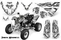 Polaris-Predator-500-CreatorX-Graphics-Kit-Tribal-Madness-Silver-White