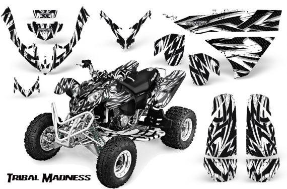 Polaris Predator 500 CreatorX Graphics Kit Tribal Madness White 570x376 - Polaris Predator 500 Graphics