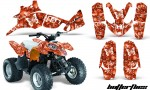 Polaris Predator 90 AMR Graphic Kit BF O 150x90 - Polaris Predator 90 Graphics