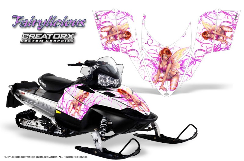 Polaris-RMK-Shift-Chassis-CreatorX-Graphics-Kit-Fairylicious-Pink-White