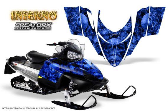 Polaris RMK Shift Chassis CreatorX Graphics Kit Inferno Blue 570x376 - Polaris Shift RMK Switchback Assult Graphics