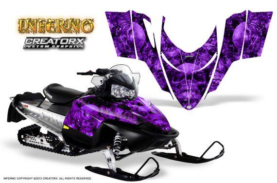 Polaris RMK Shift Chassis CreatorX Graphics Kit Inferno Purple 570x376 - Polaris Shift RMK Switchback Assult Graphics