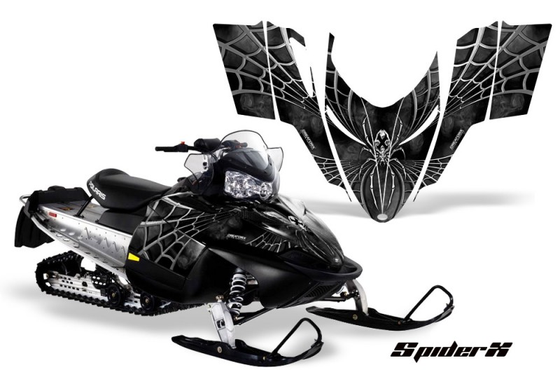 Polaris-RMK-Shift-Chassis-CreatorX-Graphics-Kit-SpiderX-Silver
