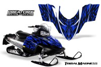 Polaris-RMK-Shift-Chassis-CreatorX-Graphics-Kit-Tribal-Madness-Blue