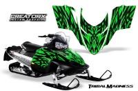 Polaris-RMK-Shift-Chassis-CreatorX-Graphics-Kit-Tribal-Madness-Green