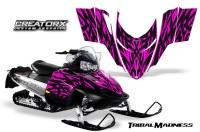 Polaris-RMK-Shift-Chassis-CreatorX-Graphics-Kit-Tribal-Madness-Pink