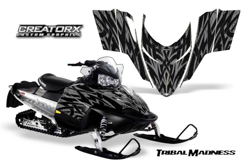 Polaris-RMK-Shift-Chassis-CreatorX-Graphics-Kit-Tribal-Madness-Silver