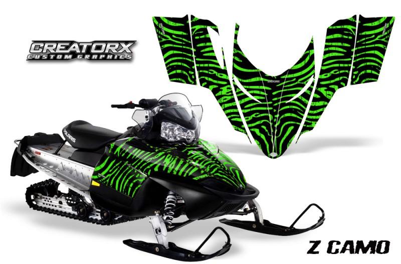 Polaris-RMK-Shift-Chassis-CreatorX-Graphics-Kit-ZCamo-Green