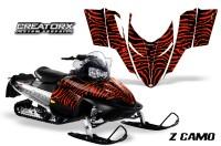 Polaris-RMK-Shift-Chassis-CreatorX-Graphics-Kit-ZCamo-Red
