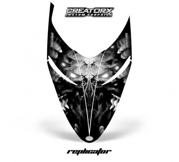 Polaris-RMK-Shift-Hood-CreatorX-Graphics-Kit-Alien-Replicator-Silver
