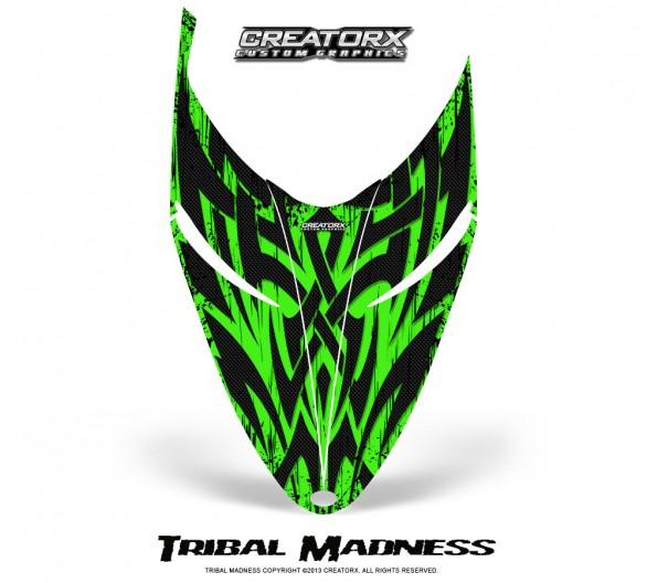 Polaris-RMK-Shift-Hood-CreatorX-Graphics-Kit-Tribal-Madness-Green