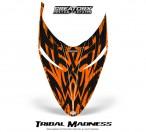 Polaris-RMK-Shift-Hood-CreatorX-Graphics-Kit-Tribal-Madness-Orange