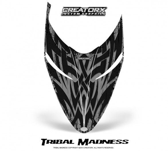 Polaris-RMK-Shift-Hood-CreatorX-Graphics-Kit-Tribal-Madness-Silver