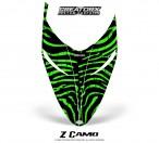 Polaris-RMK-Shift-Hood-CreatorX-Graphics-Kit-ZCamo-Green