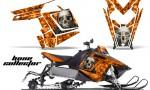 Polaris RUSH AMR Graphics Kit BC o 150x90 - Polaris PRO RMK RUSH 2011-2014 Graphics